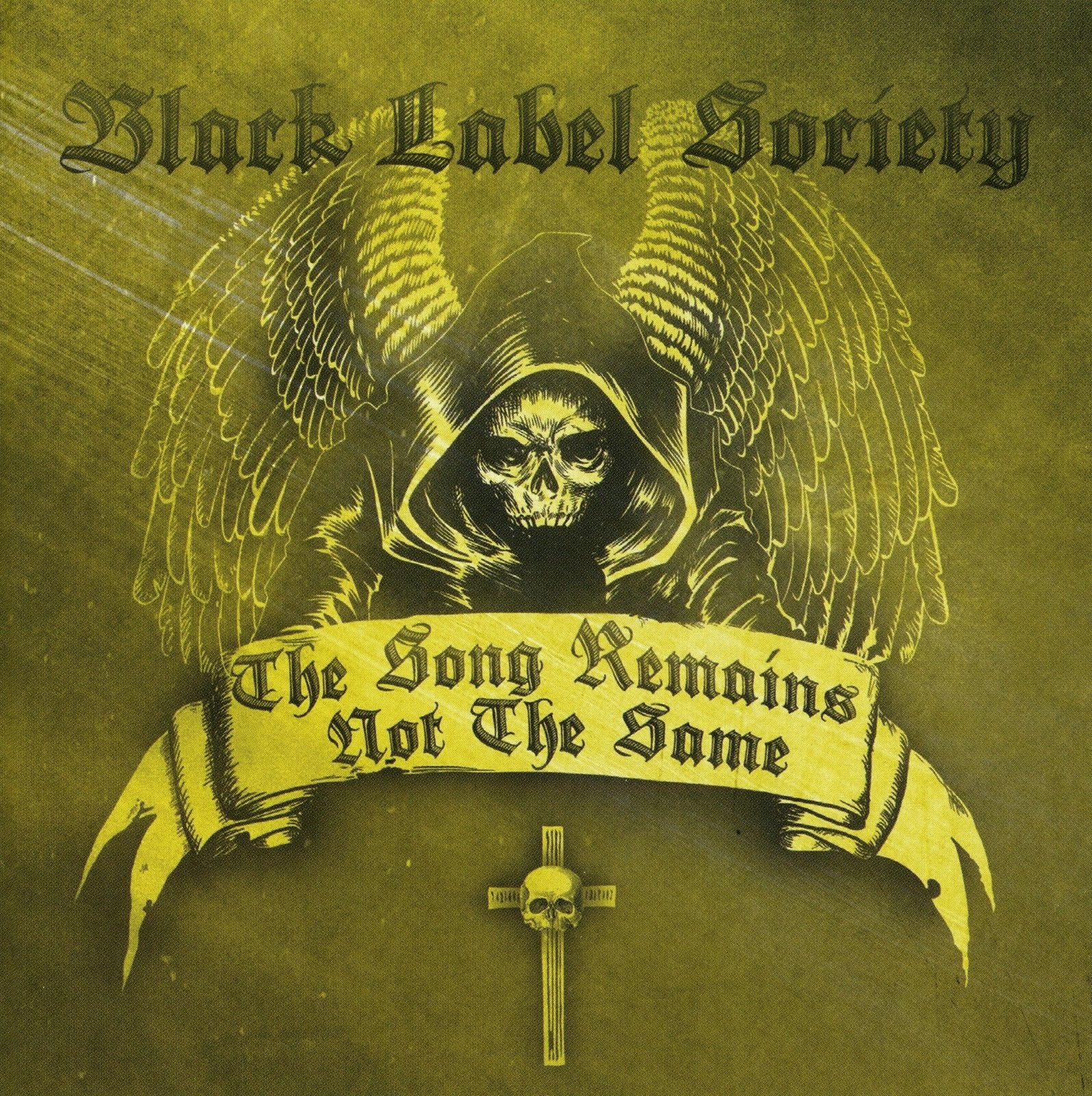 Book Cover Black Label : The song remains not same classic rock covers by